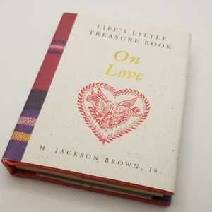3 for $15-Life's Little Treasure Book On Love